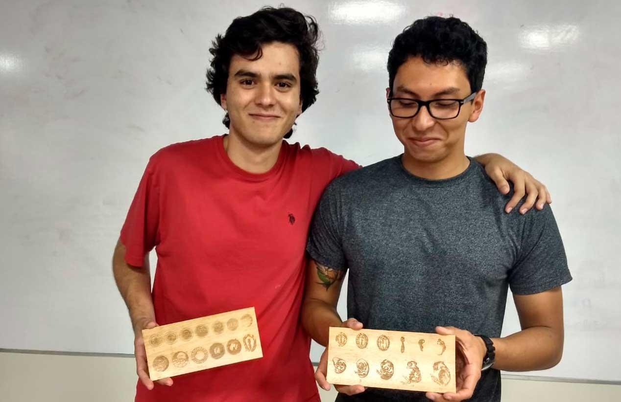 Embriología de cordados: Un material didáctico diseñado y creado por estudiantes en el D-Hive UVG