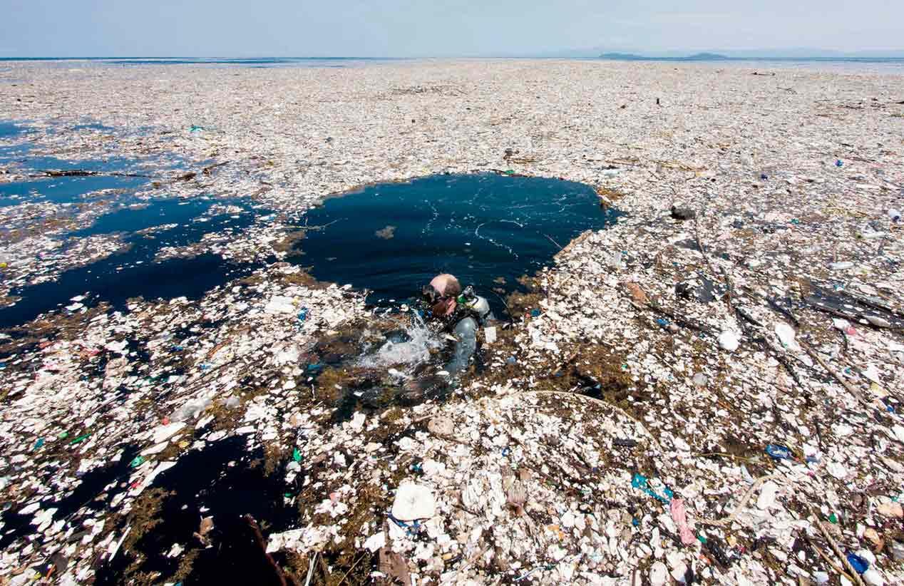 No solo los más de 1.5 kilómetros cuadrados de plástico ponen en peligro a nuestros mares