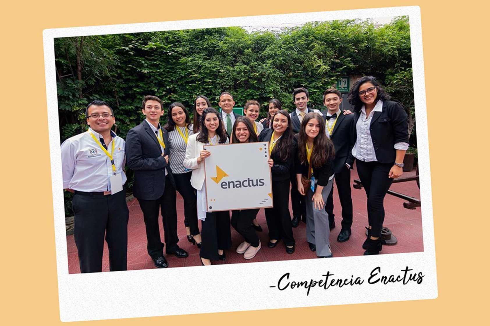 Emprendimientos de UVG fueron premiados en Enactus 2019