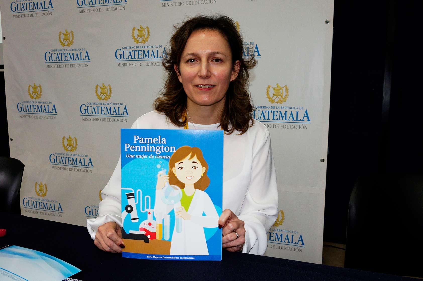 «Pamela Pennington Una mujer de ciencia», un libro para inspirar a niñas y jóvenes