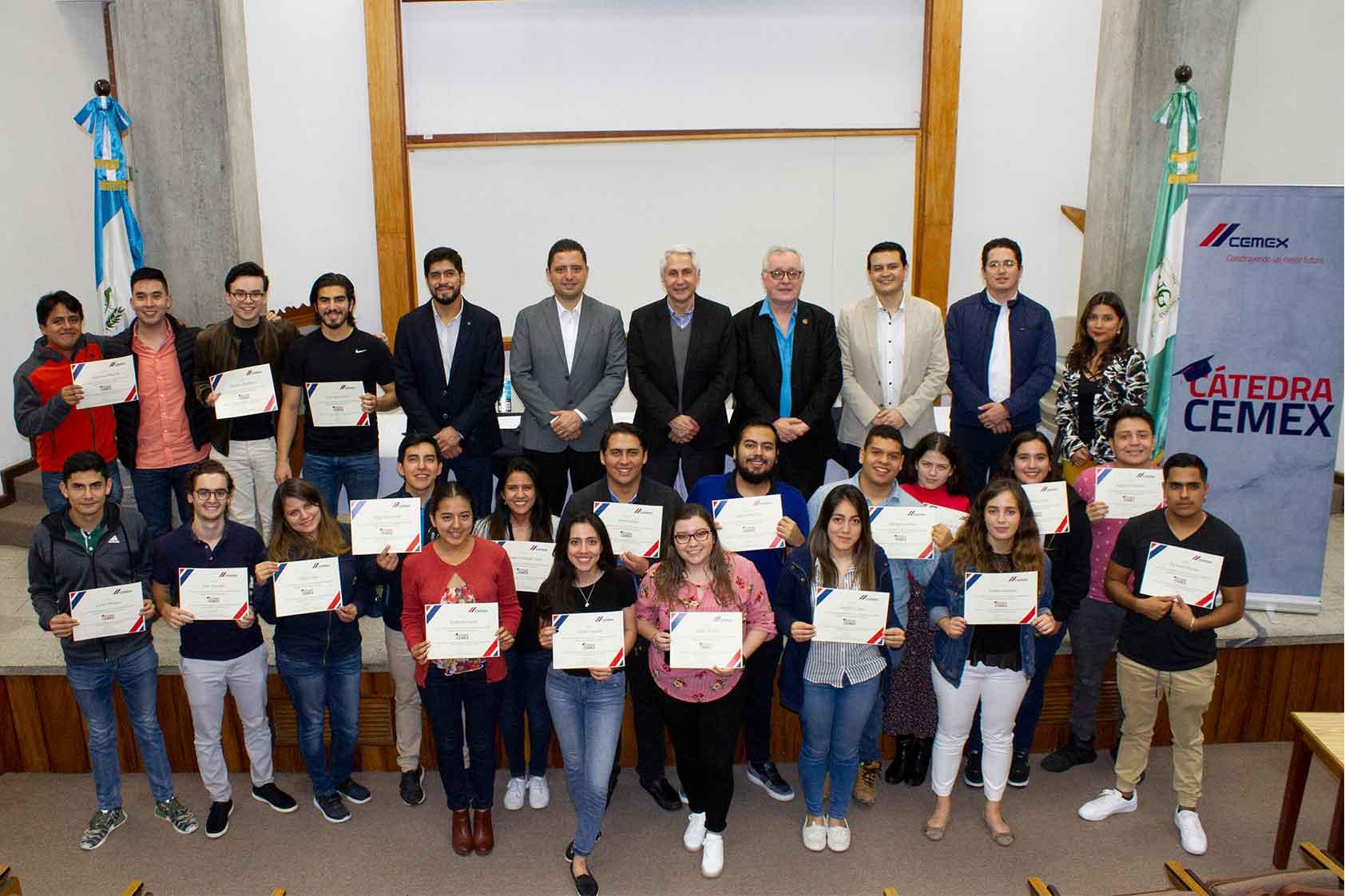 combinación de talento multigeneracional,Tercera promoción de la Cátedra CEMEX
