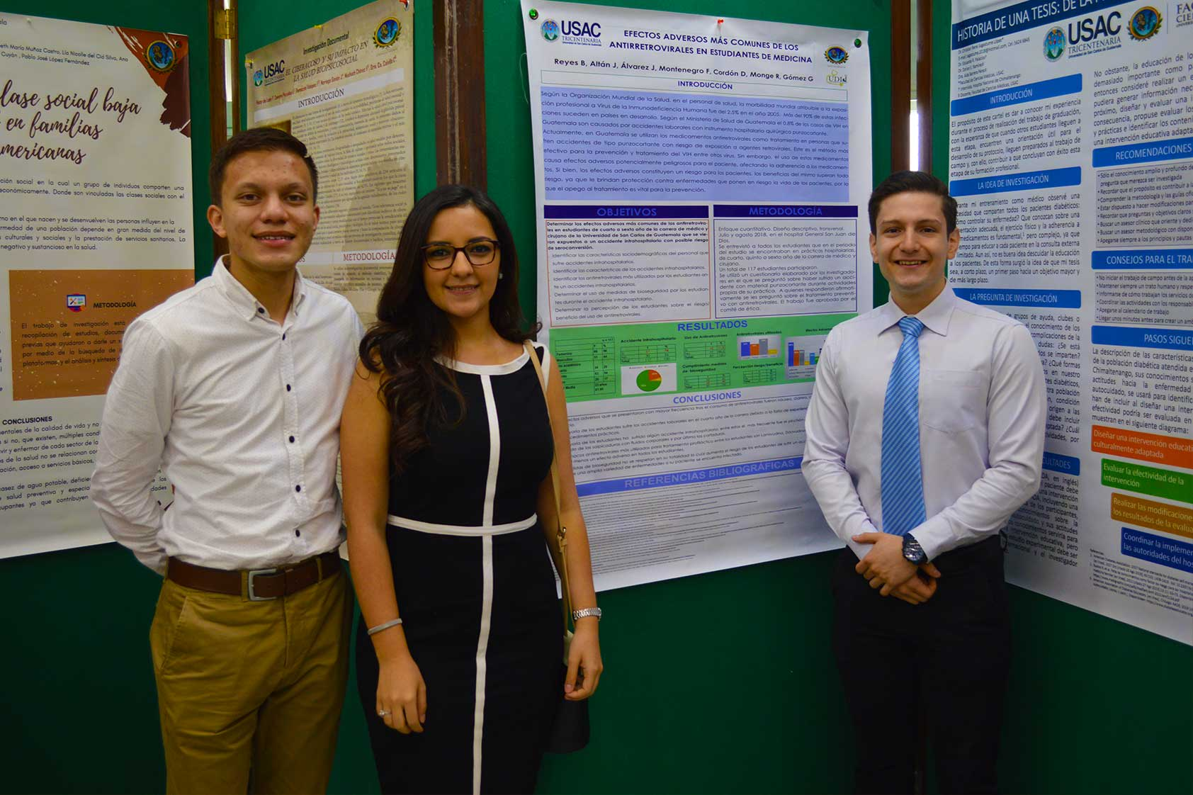 Fuimos sede para el intercambio entre jóvenes de investigaciones científicas y de salud