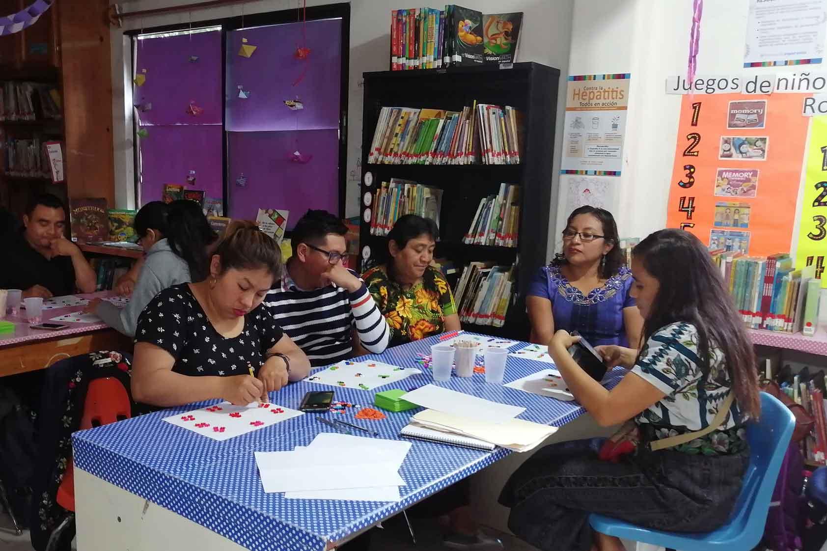 Apoyo de maestro a maestro, la experiencia Teachers2Teachers
