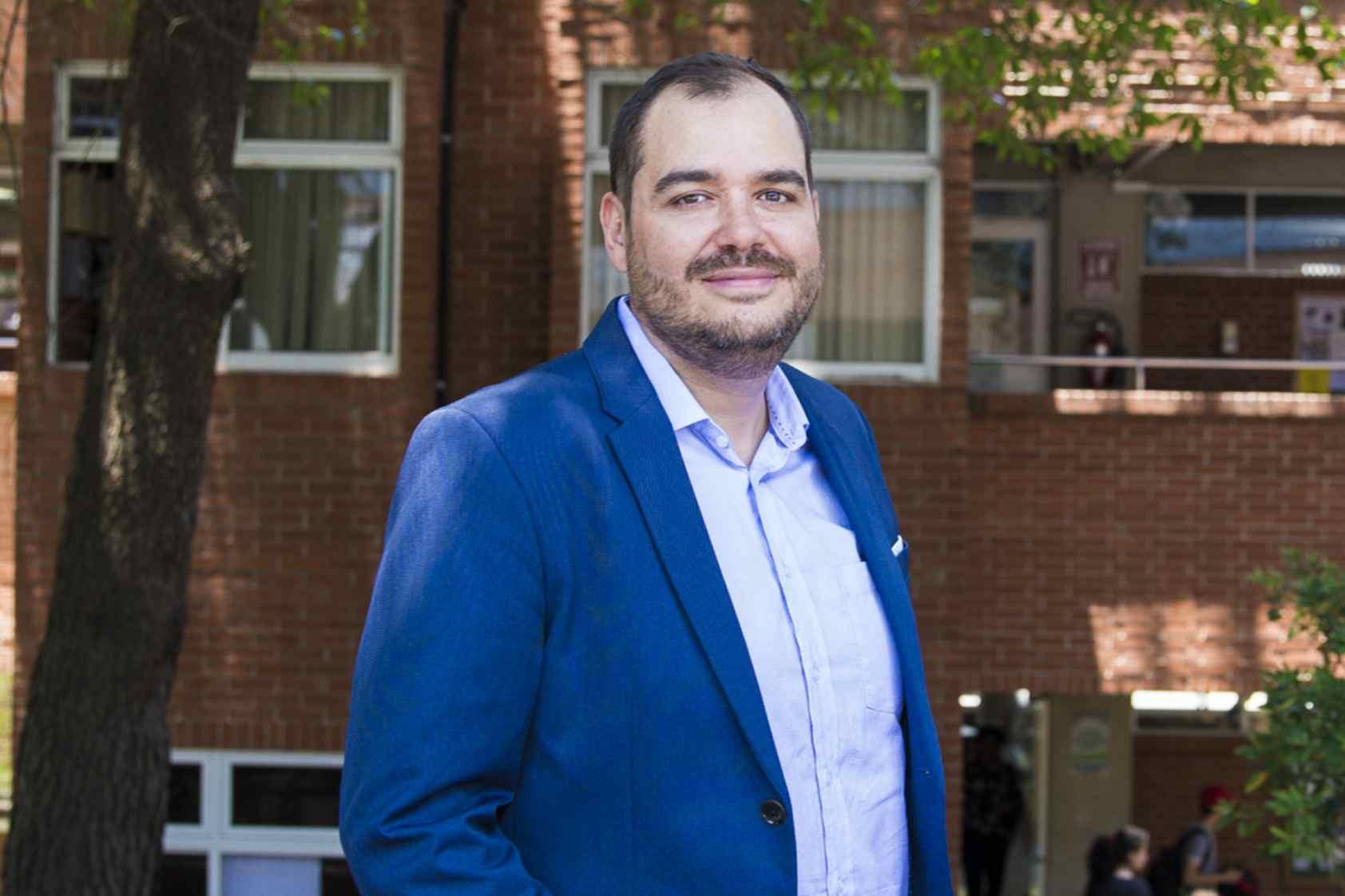 Juan Pablo Fernández, nuestro egresado que destaca en Holanda