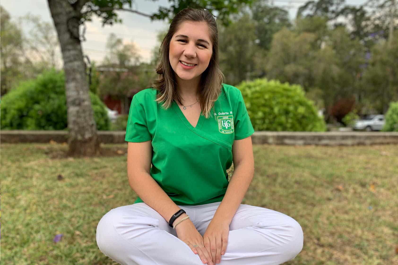 Natalia Gularte, pasión por la nutrición y liderazgo estudiantil