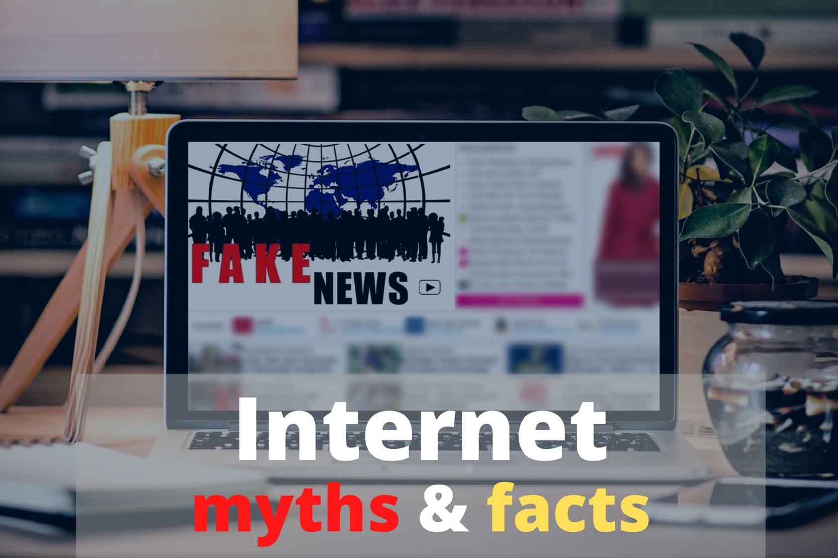 Myths about the Internet in the context of COVID-19