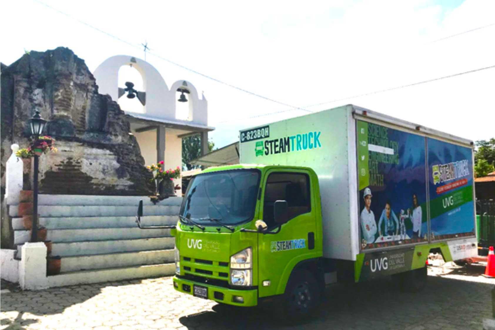 Con el Steam Truck llegamos también a comunidades en el interior de Guatemala