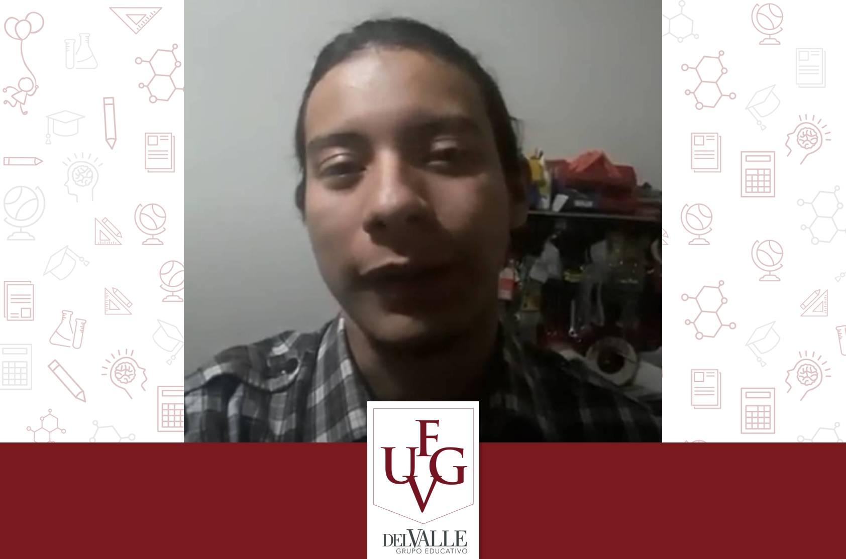 José Ramirez forma parte del programa EstudianteXestudiante