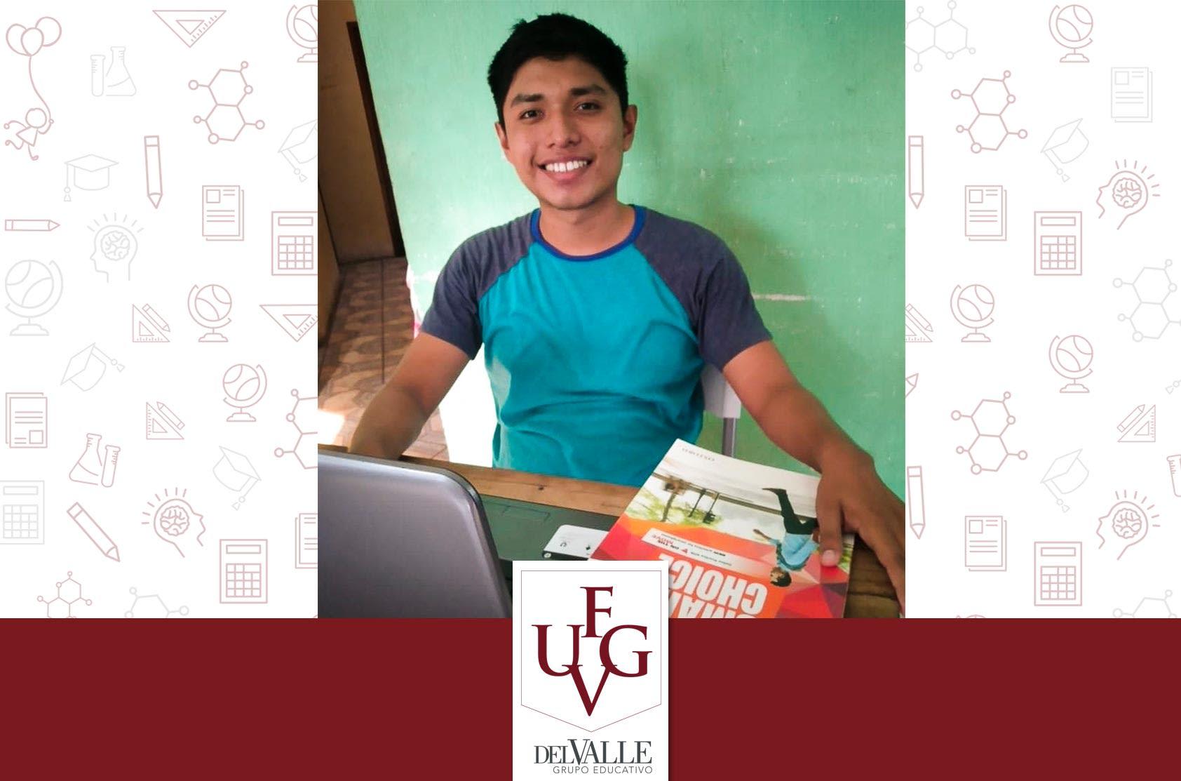 Ever Hernández y el sueño de desarrollarse profesionalmente para ayudar a otros