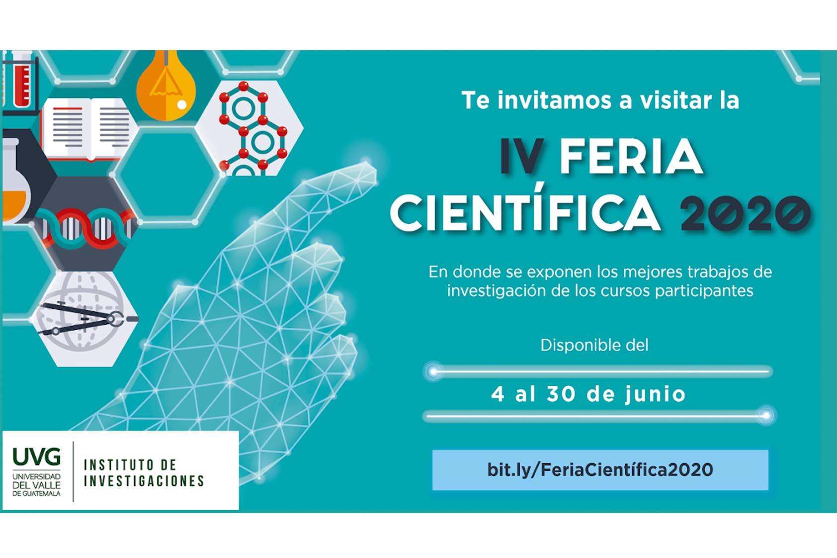 III Feria Científica: ¡En UVG nos apasionamos por la investigación!