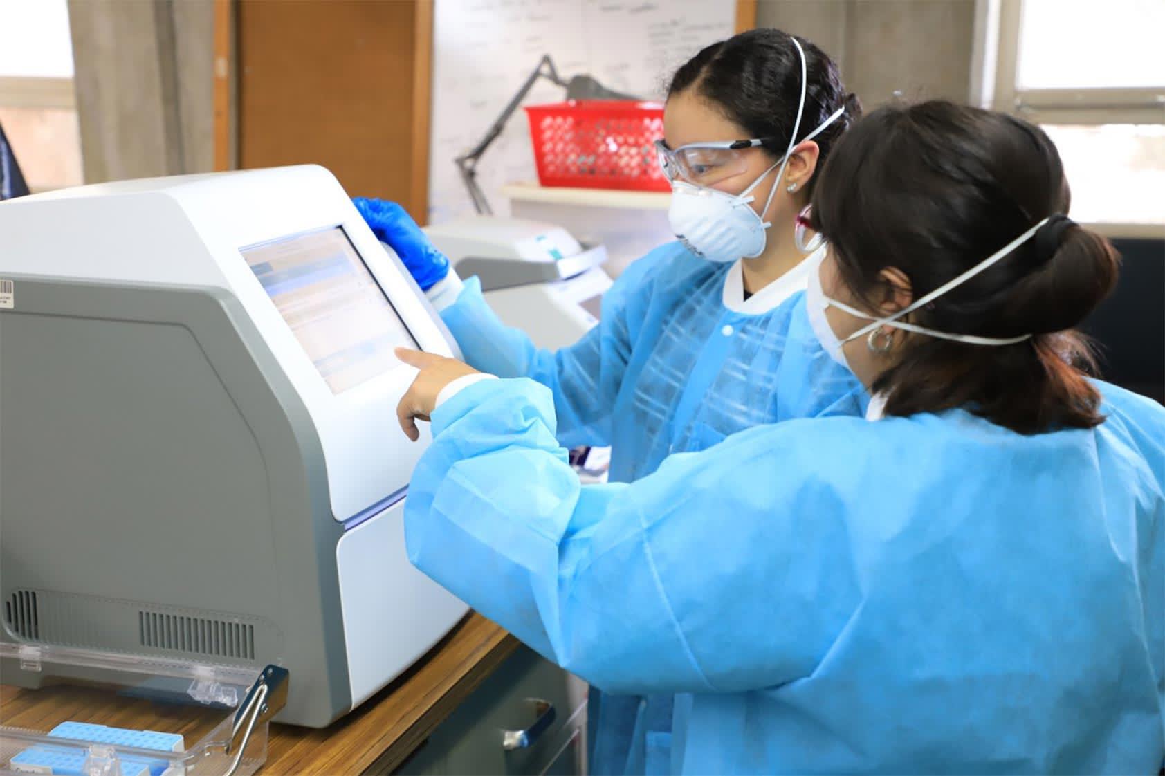 Contribuimos para fortalecer el procesamiento de pruebas en Quetzaltenango