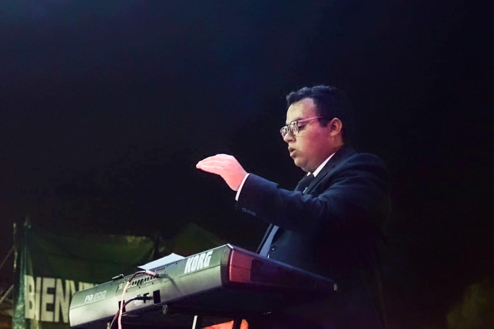 Pablo Daniel Díaz, el joven que busca que la música en Guatemala sea inclusiva