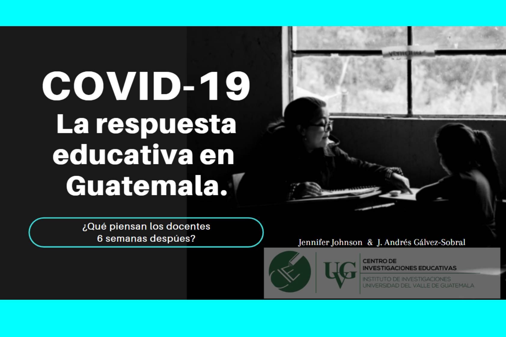 Así fue la respuesta de los docentes de Guatemala ante el COVID19