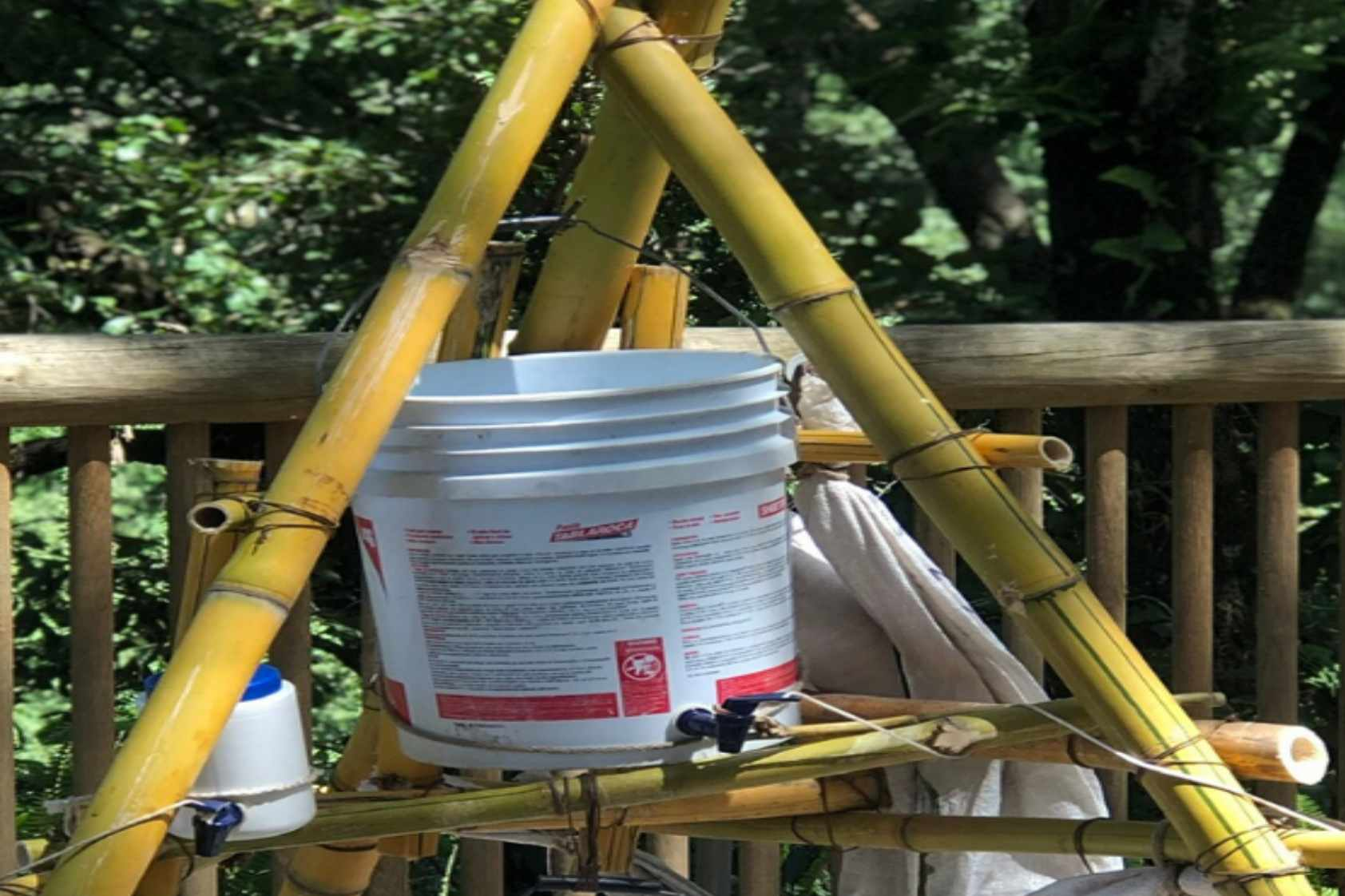 Lavamanos rurales, cuatro propuestas de nuestros estudiantes