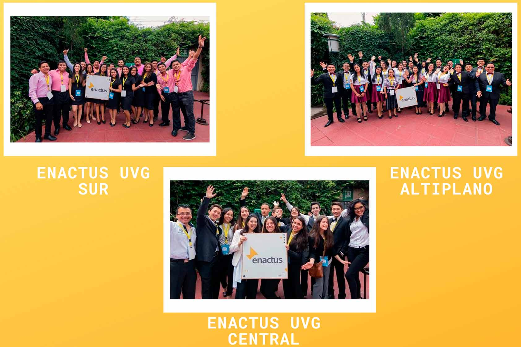 ¡Nuestros tres campus están listos para la Competencia Nacional de Enactus!