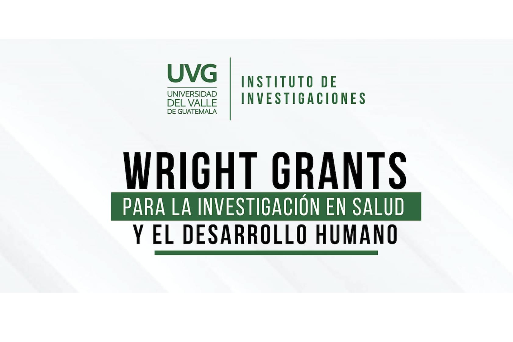 Dos estudiantes ofrecerán soluciones en salud gracias a los Wright Grants