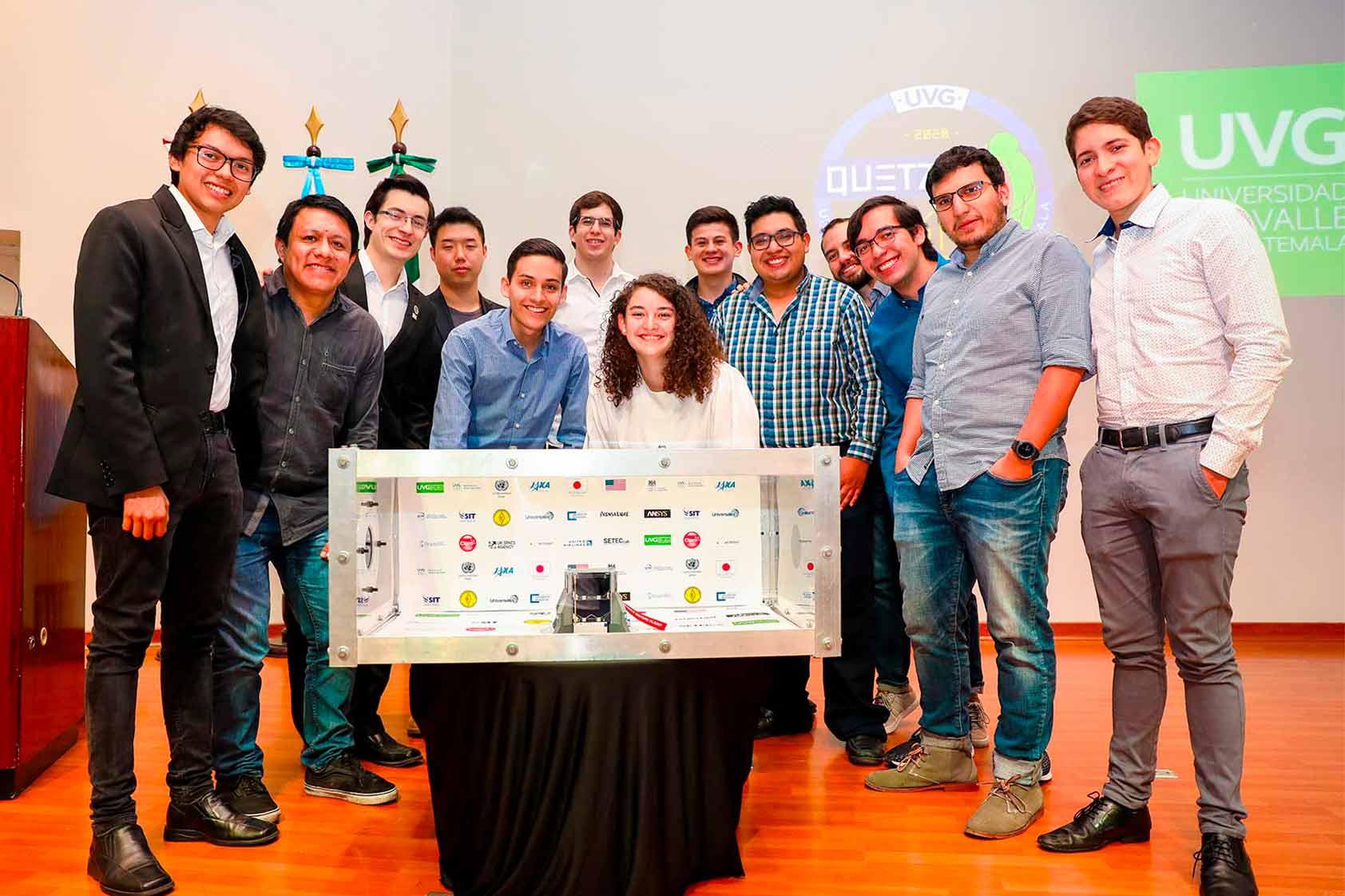 Equipo de Quetzal-1 es un reflejo del poder de los jóvenes en la ciencia