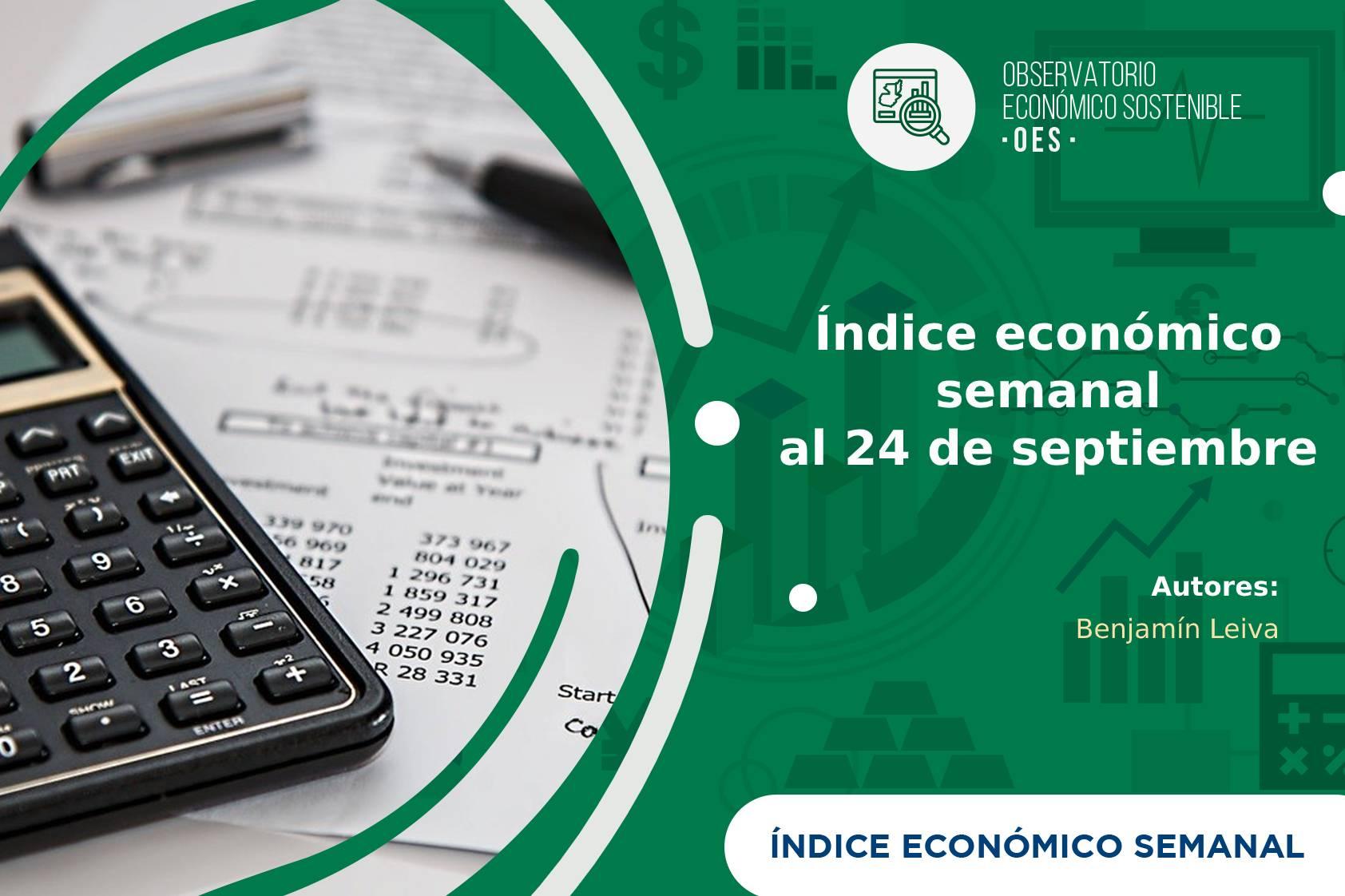 Índice económico semanal al 24 de septiembre