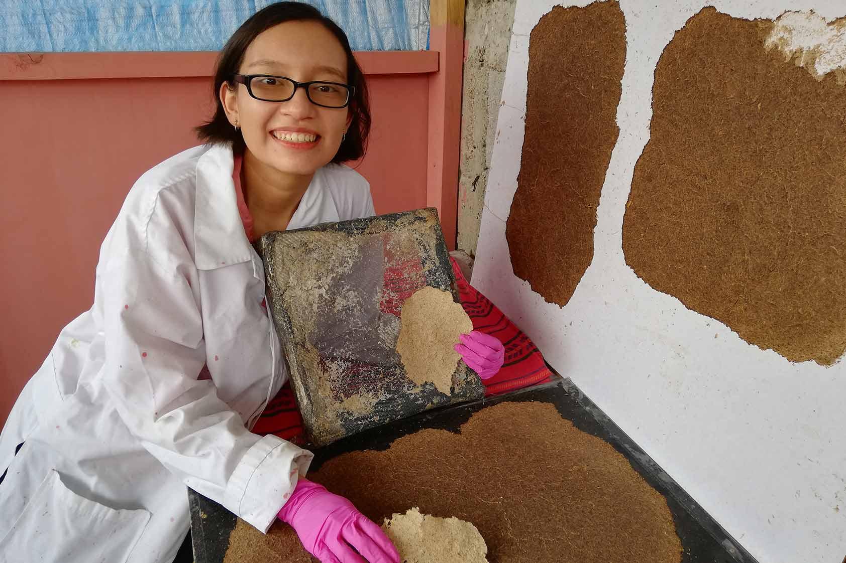 Sofía Tzorin, estudiante de la Licenciatura en Ingeniería Química