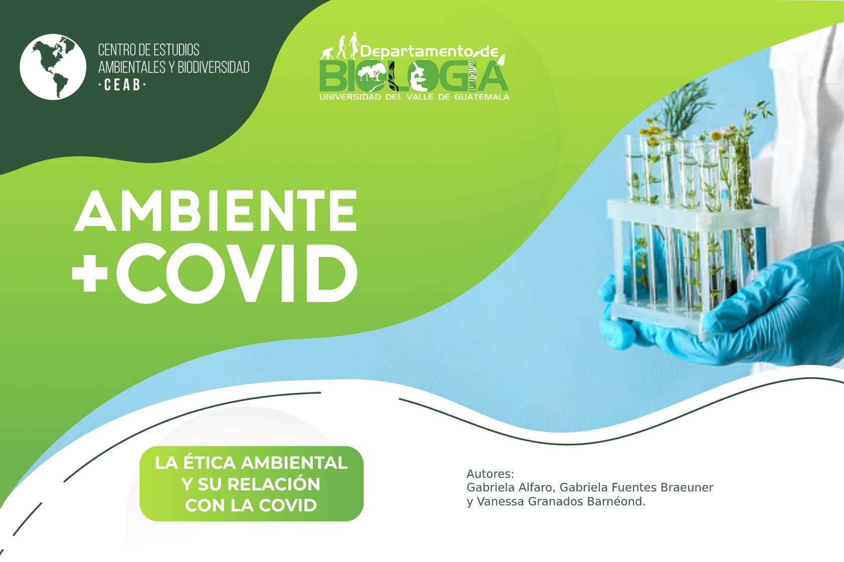 La ética ambiental y su relación con la COVID