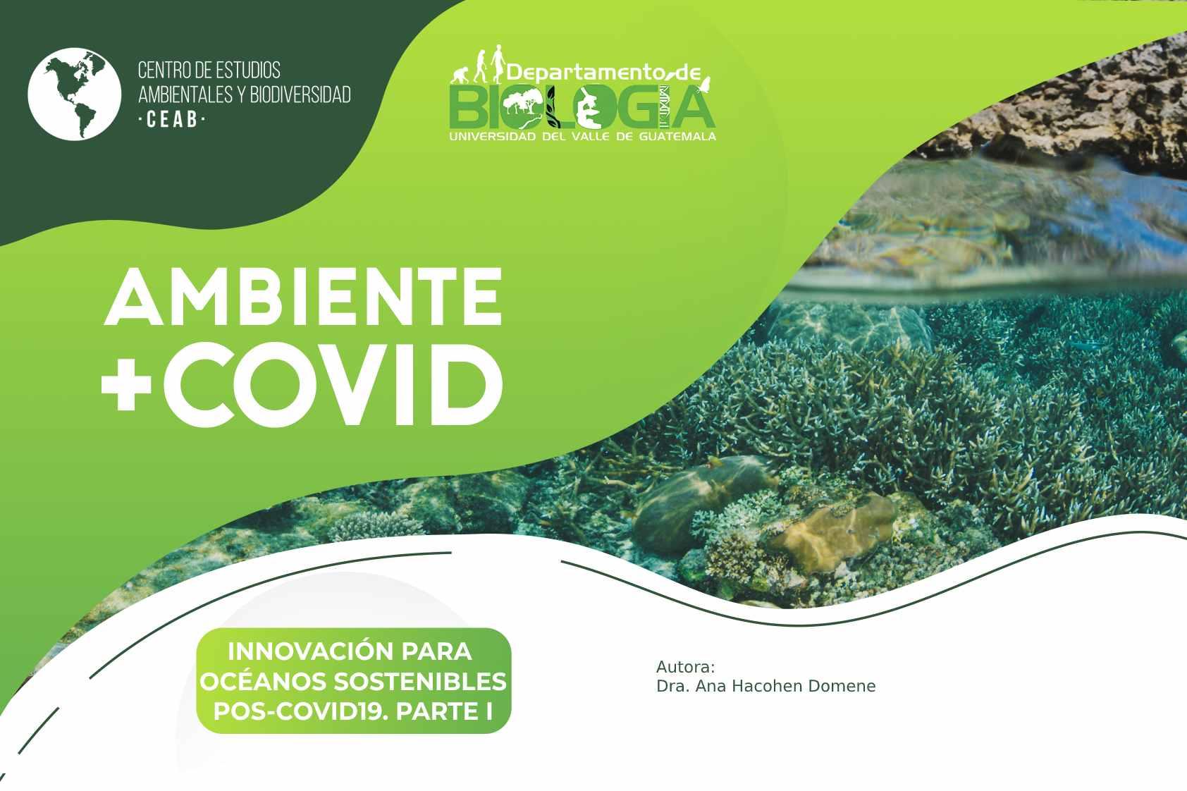Innovación para océanos sostenibles pos-covid19. Parte I