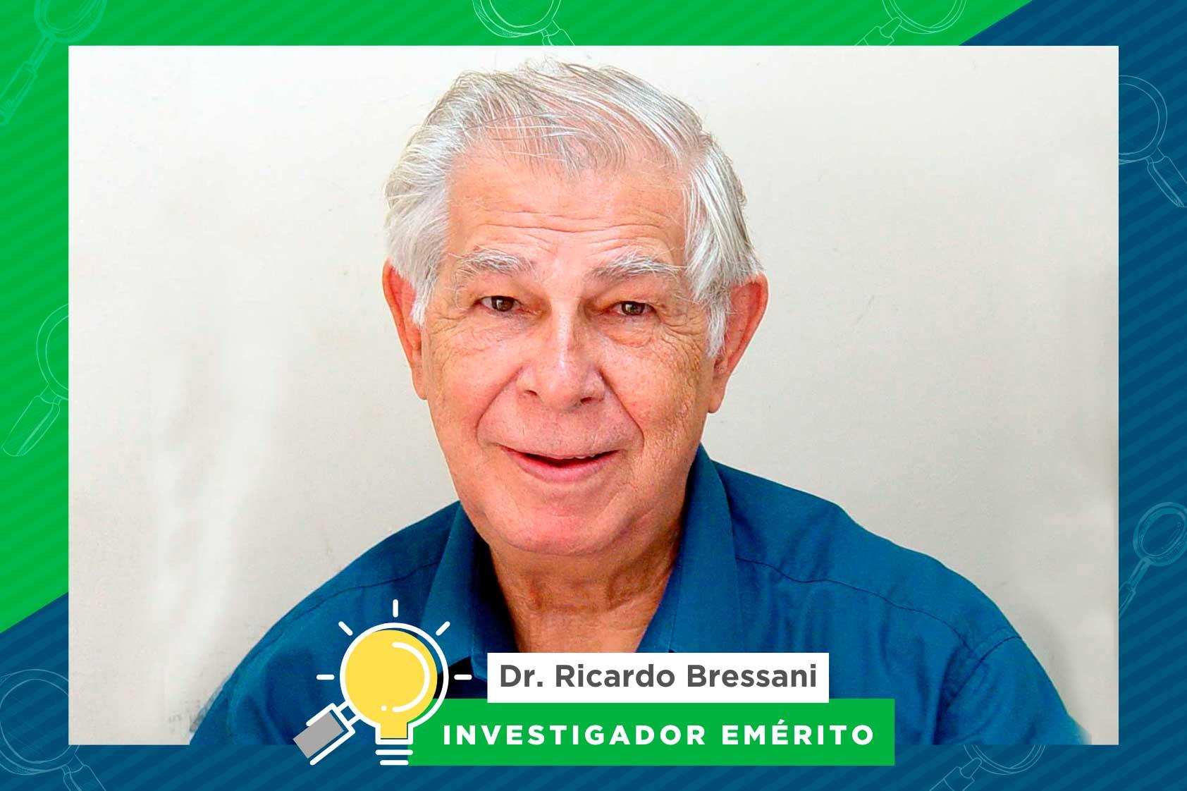 Dr. Ricardo Bressani, un investigador vinculado con soluciones nutritivas