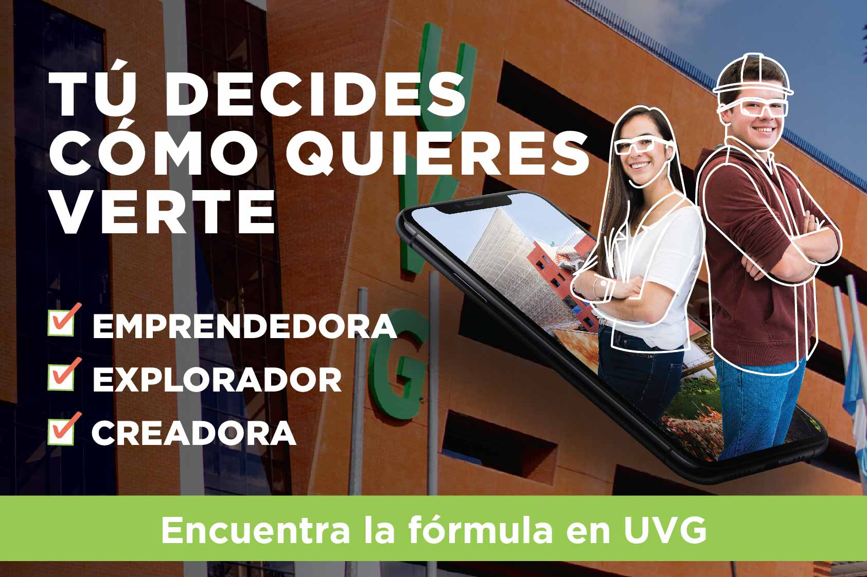 ¡Encuentra la fórmula en UVG, vive la Experiencia 2021!