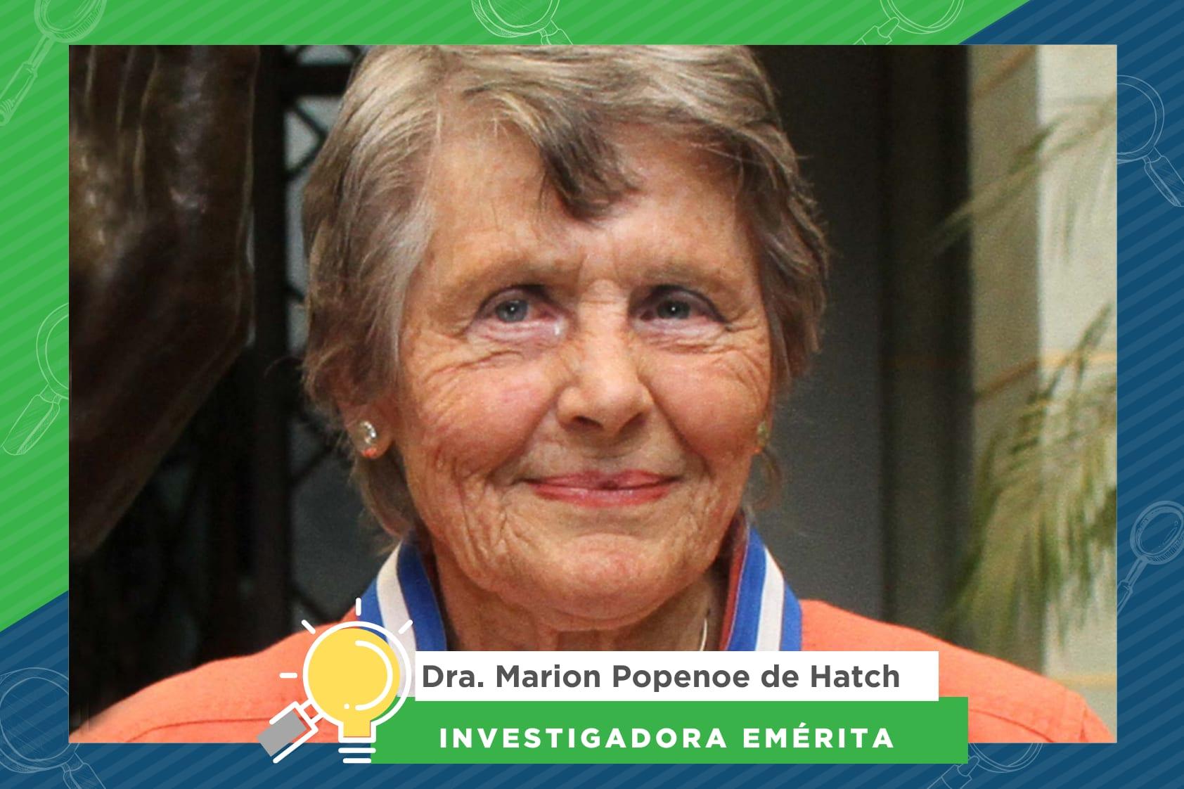 La Dra. Marion Popenoe de Hatch y su amor por la Arqueología