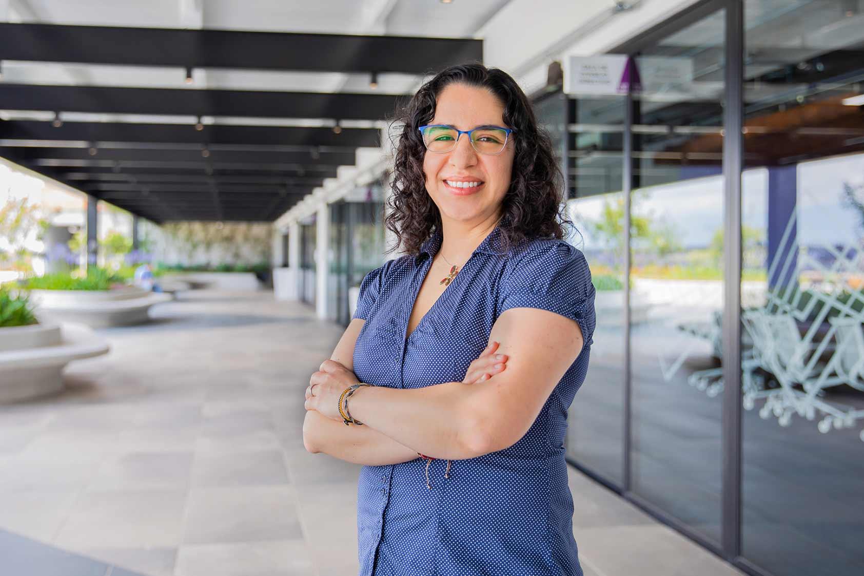 El bagaje multicultural de Alejandra Reynoso, presidenta de la ccNSO