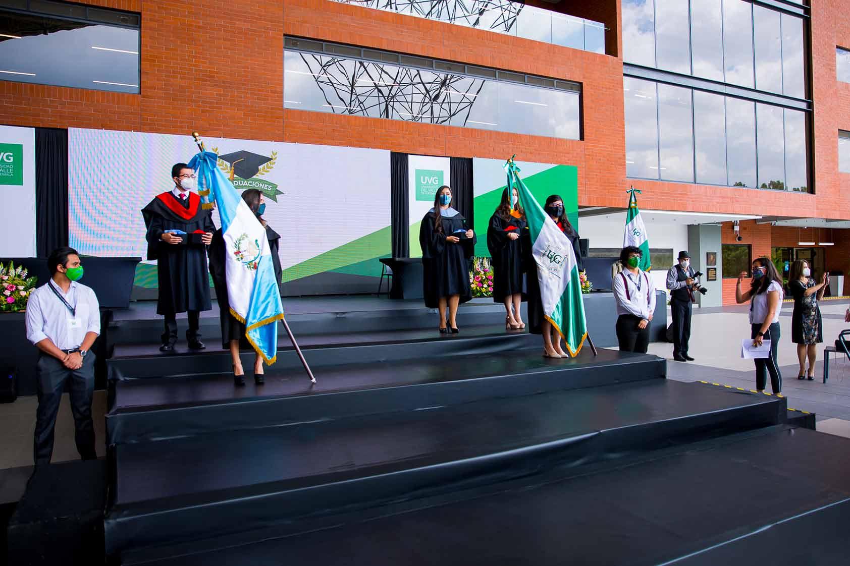 EL CIT fue el escenario de las Graduaciones UVG 2021