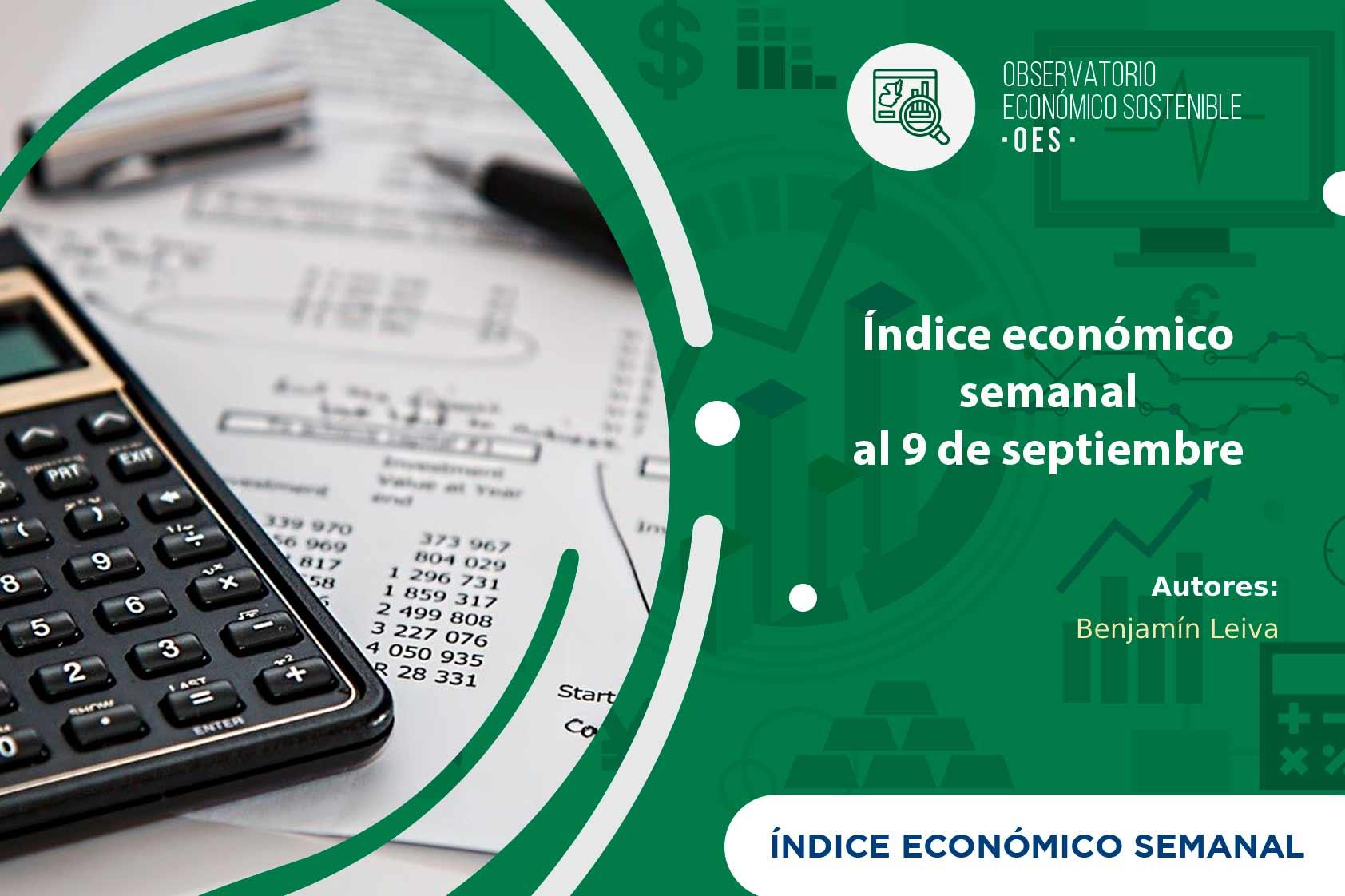 IES desciende 1% a causa de las bajas exportaciones para el 9 de septiembre