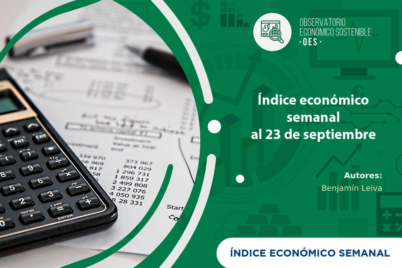 IES vuelve a bajar a causa de las remesas para el 23 de septiembre