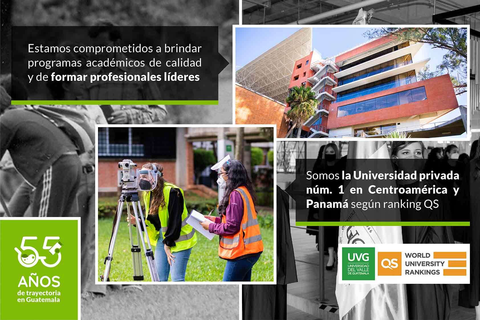 Por tercer año, somos la universidad privada nro. 1 en Centroamérica y Panamá