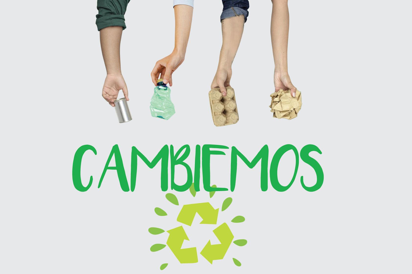 ¡Todo el campus a reciclar!
