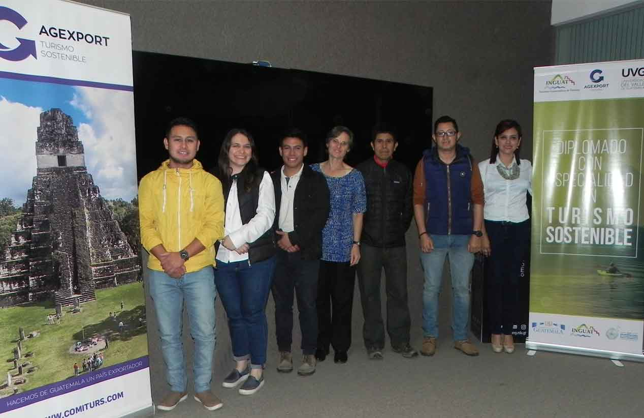 Participantes del Diplomado en Turismo sostenible
