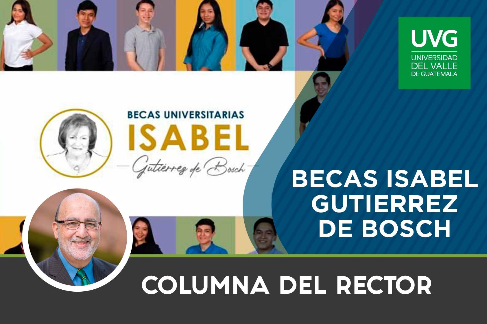 Becas Isabel Gutierrez de Bosch
