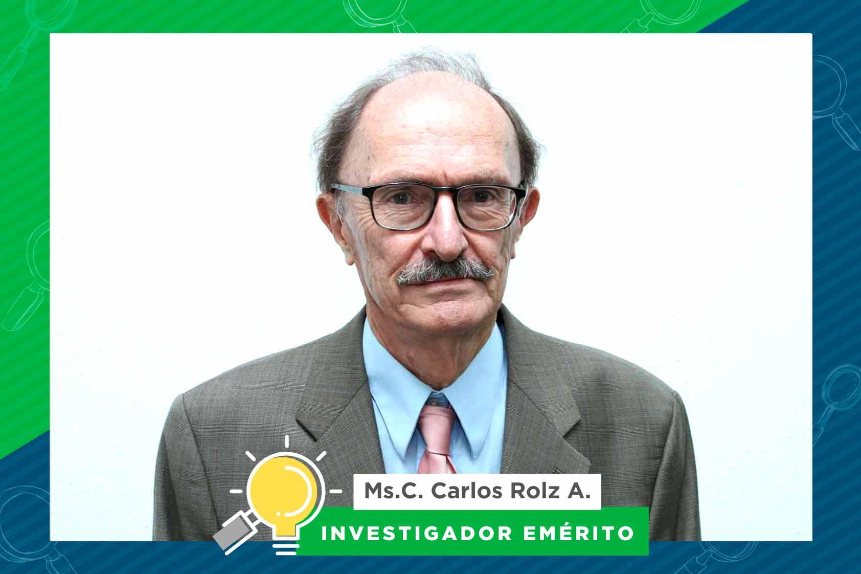 La larga trayectoria en divulgación científica de Carlos Rolz Asturias