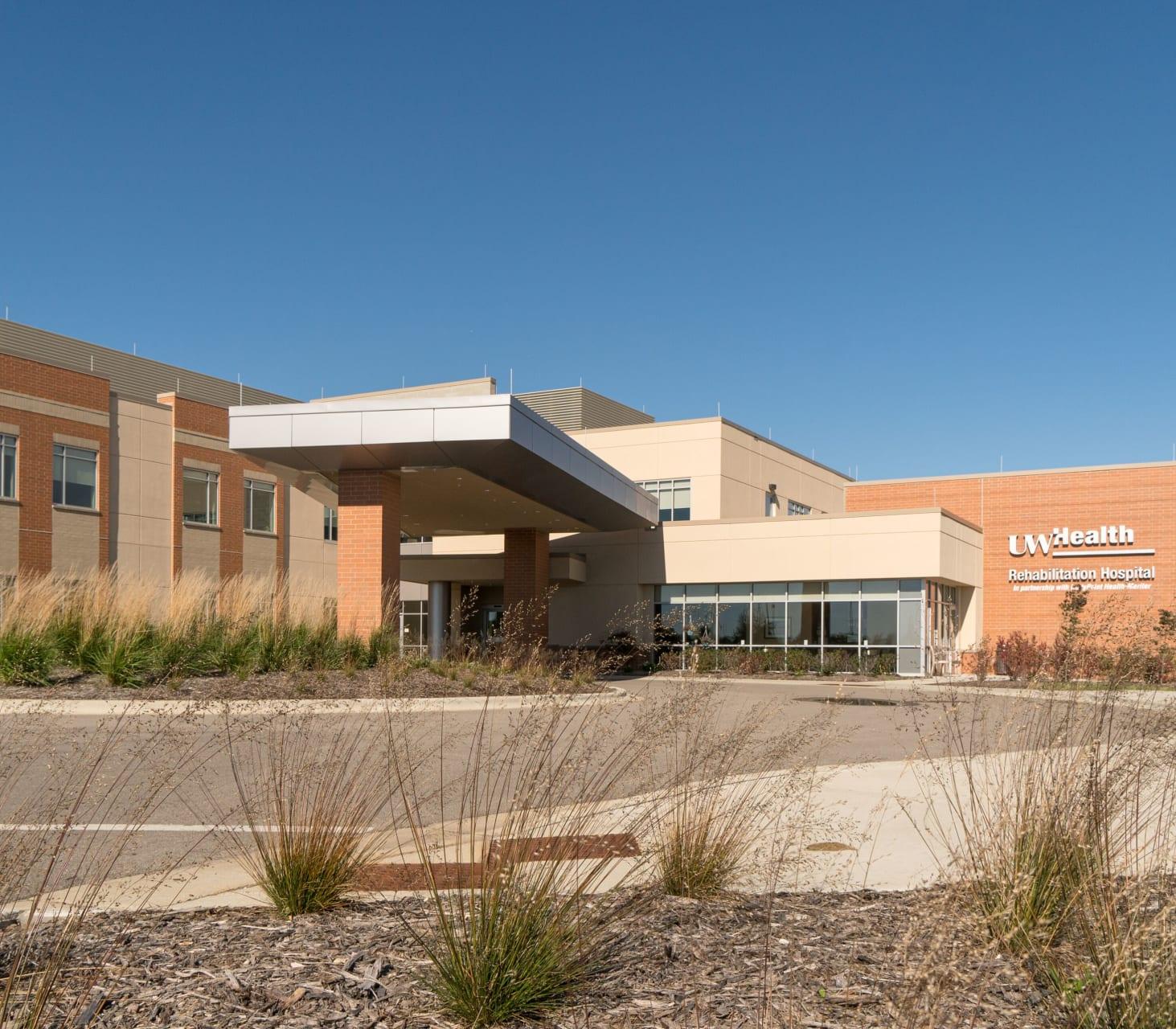 UW Health Rehabilitation Hospital Facility Image