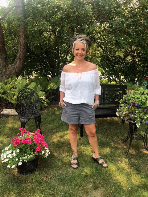 Nikki Loichinger smiling outdoors.