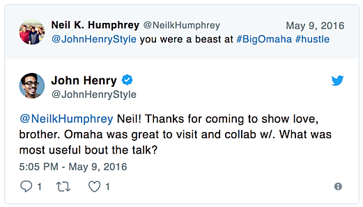 Neil Humphrey Big Omaha John Henry
