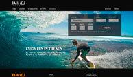 Разработка дизайн сайта и создание сайта для RANNVELI Hotels