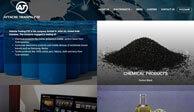 Разработка дизайн сайта и создание сайта для ATTACHE TRADING FZE