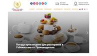 Разработка дизайн сайта и создание сайта для Turon Porcelain