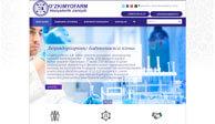 Разработка дизайн сайта и создание сайта для АО Uzkimyofarm