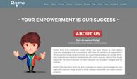 Создание сайта и разработка дизайн сайта для Pivoting Africa