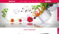 Разработка дизайн сайта и создание сайта для @Itimat @Simfer