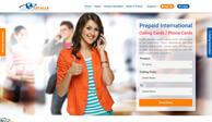 Создание сайта и разработка дизайн сайта для EZCalls.com