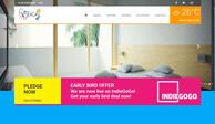 Разработка дизайн сайта и создание сайта для Beachy Maldives