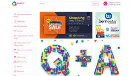 Разработка дизайн сайта и создание сайта для Afanti.uz