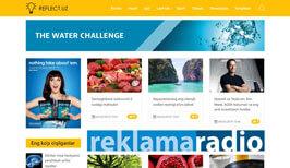 Разработка дизайн сайта и создания сайта в Ташкенте для Reflect.uz